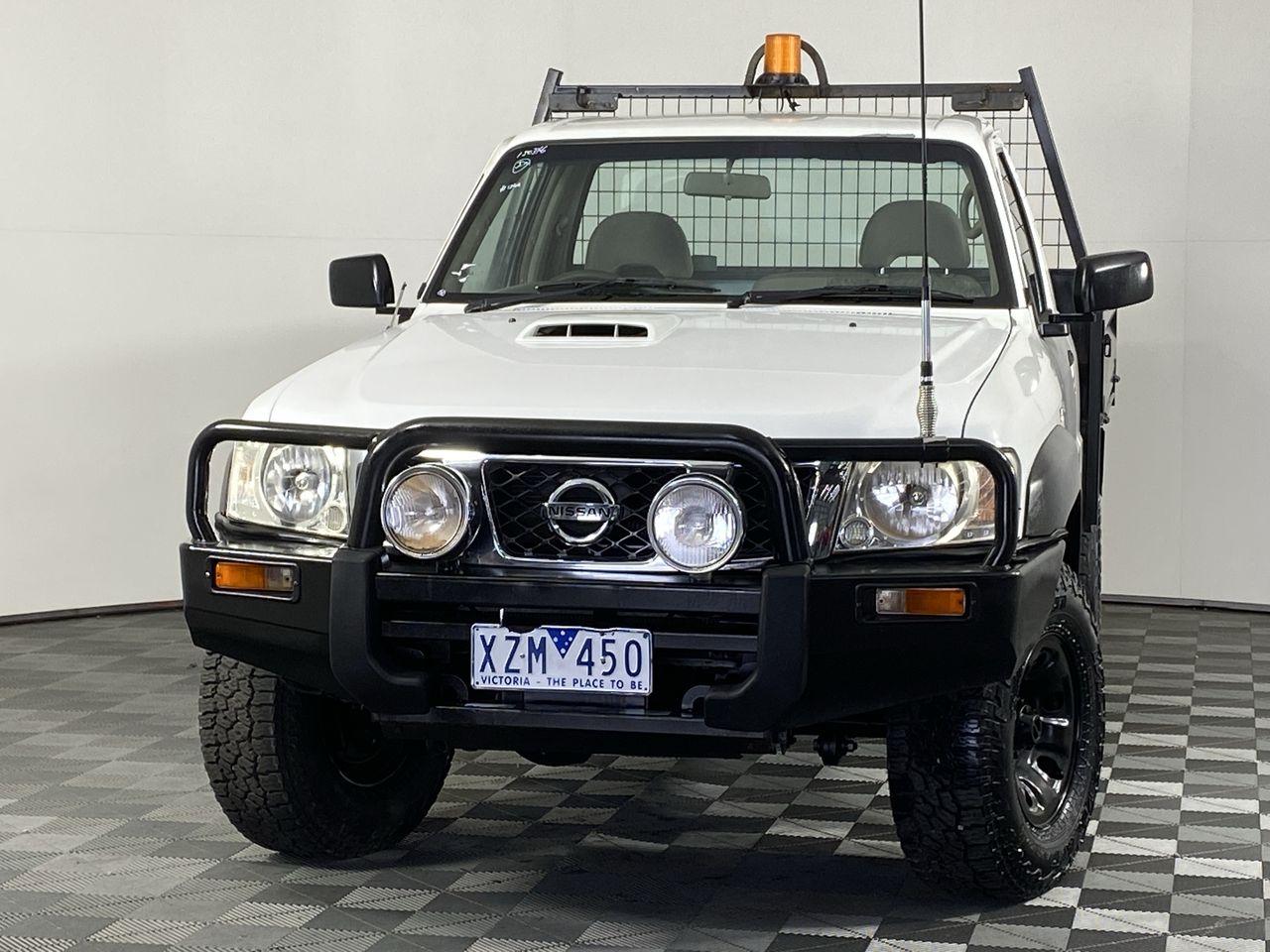 2010 Nissan Patrol DX (4x4) GU Turbo Diesel Manual Cab Chassis