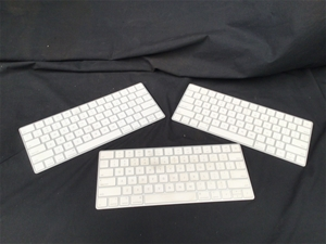 3 x Apple Wireless Keyboards