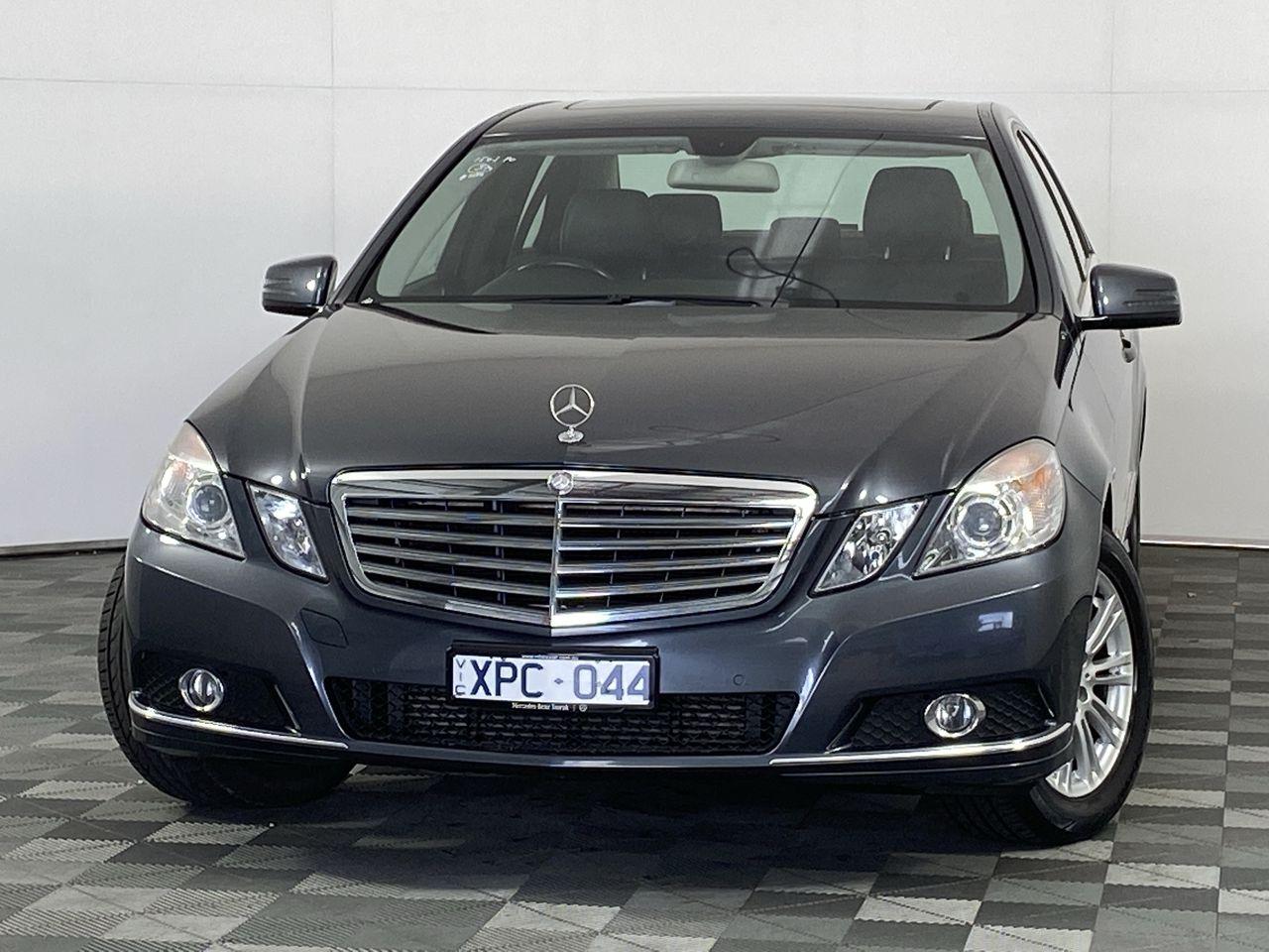 2010 Mercedes Benz E220 CDI Elegance W212 Turbo Diesel Automatic Sedan