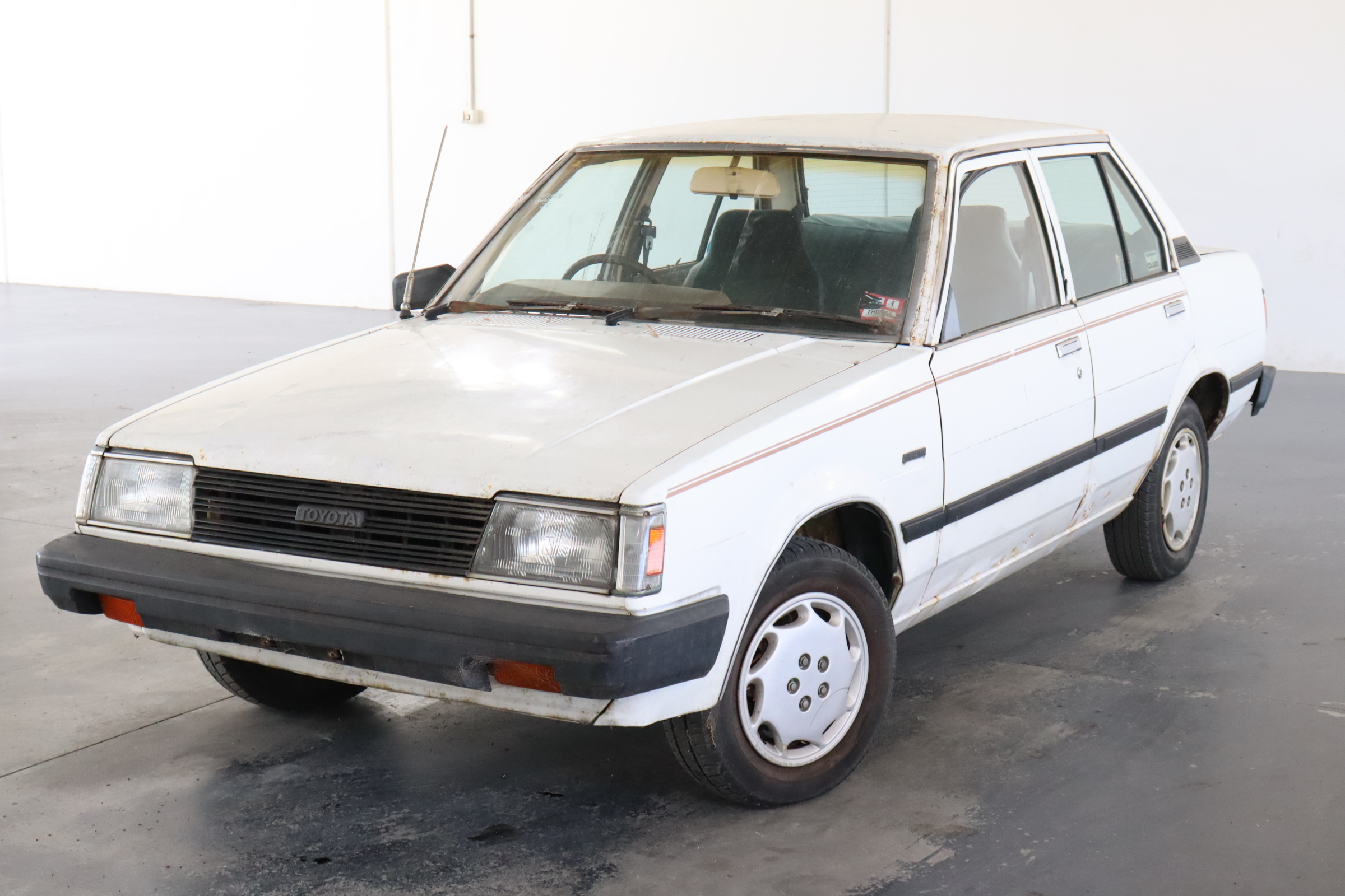 1984 Toyota Corolla Manual Sedan