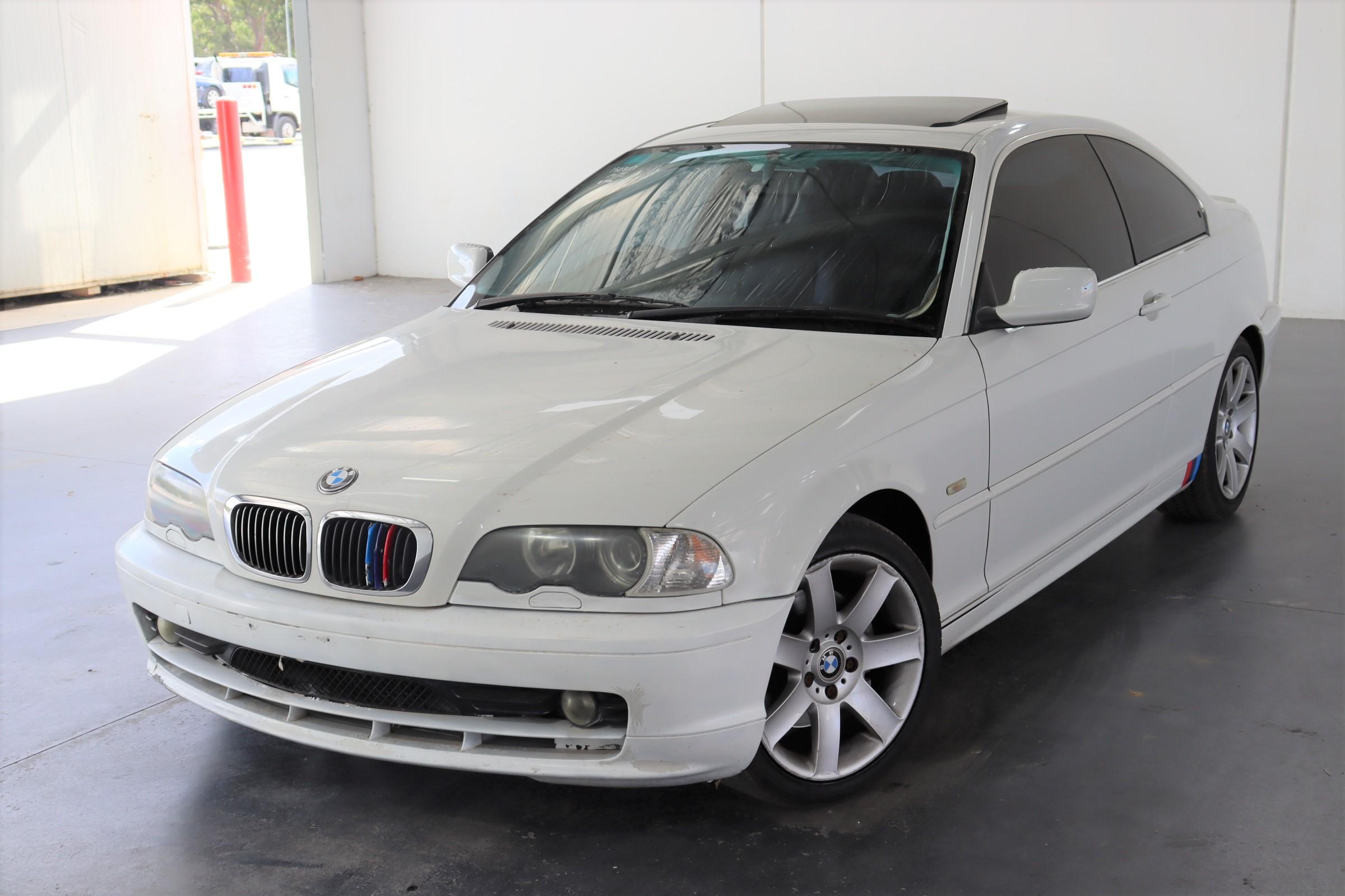 2001 BMW 3 25ci E46 Automatic Coupe