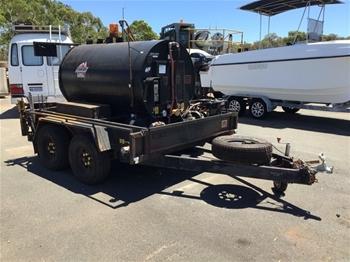 2015 Custom Built Bitumen Tanker Trailer