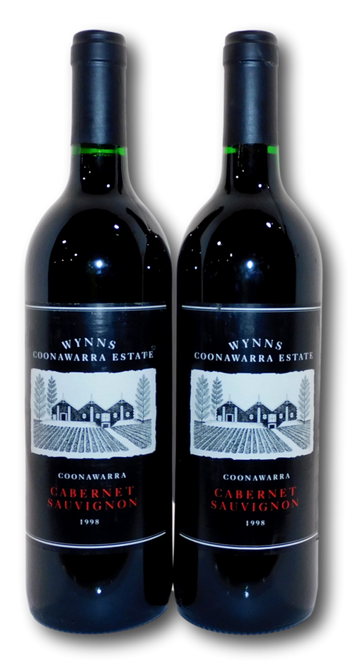 Wynns Black Label Cabernet Sauvignon 1998 (2x 750mL), Coonawarra