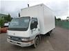 2000 Mitsubishi Canter 500/600 4 x 2 Pantech Truck
