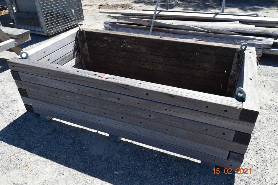 Timber Framed Vegetable Planter Box