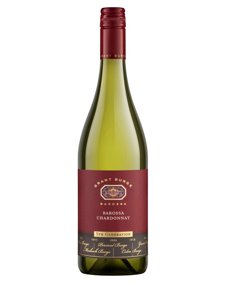 Grant Burge 5th Gen Chardonnay 2019 (6x 750mL), Barossa, SA
