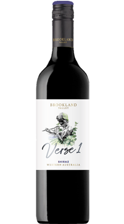 Brookland Valley Verse 1 Shiraz 2019 (6x 750mL), WA