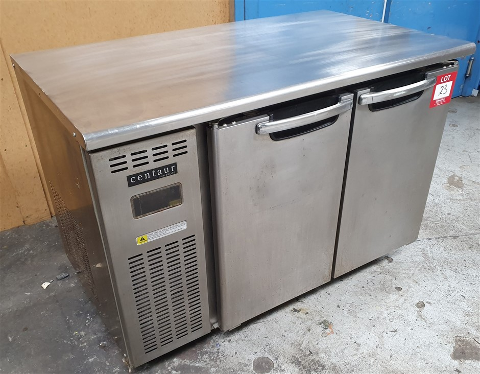 Skope Centaur Two Solid door underbar fridge - Condition Unknown.