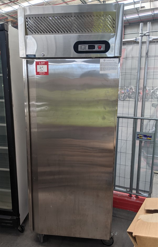 Single Door Storage Freezer - Stainless steel