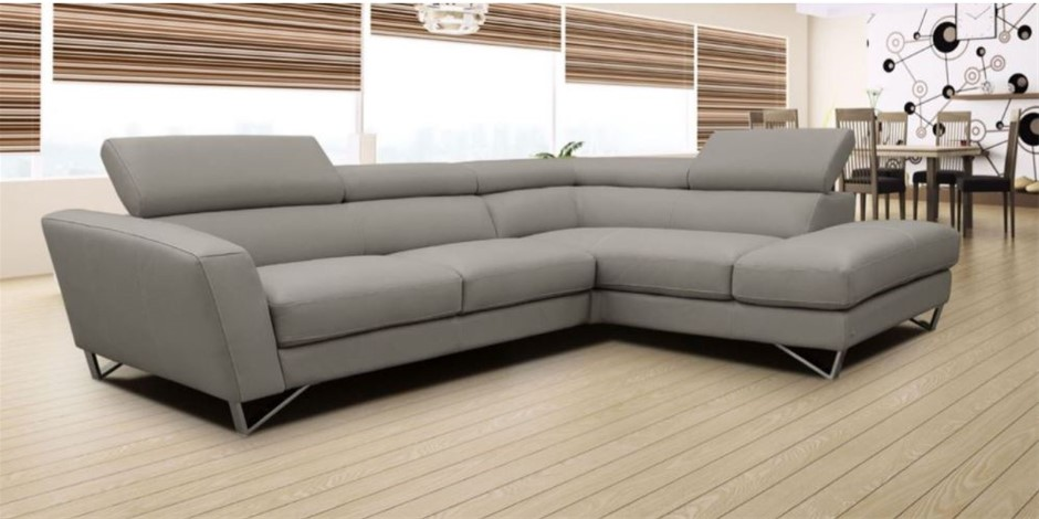 Nicoletti Sparta Modular Lounge - 3 Seater With Right Hand Facing Chaise