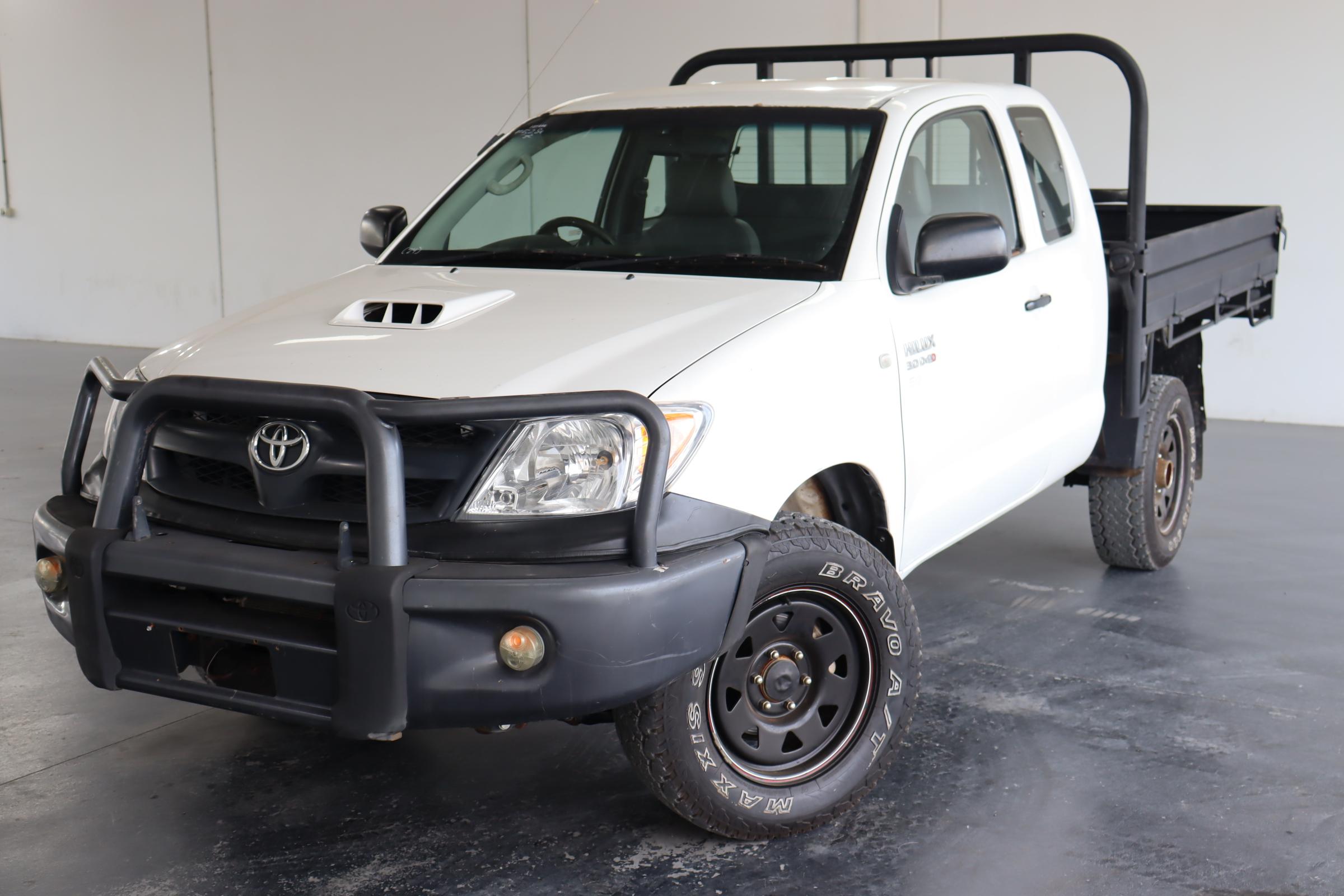 2005 Toyota Hilux SR (4x4) KUN26R T/D Manual Ute(RWC issued on 19 Feb 2021)