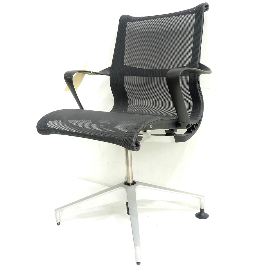 Qty 1 x Herman Miller Setu Swivel Office Chair