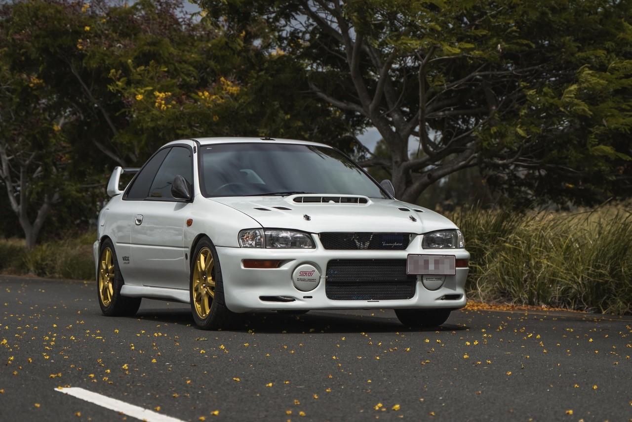 1997 Subaru WRX 2 door Type R Version IV