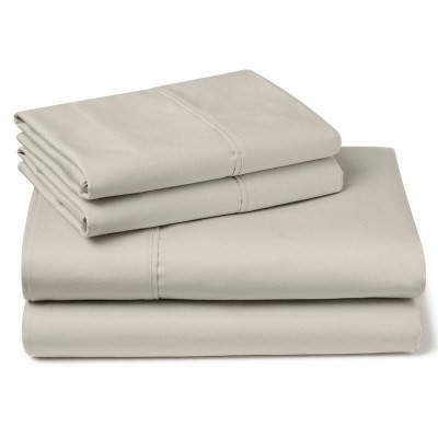 PENTHOUSE SUITE 1000 Thread Count King Bed Sheet Set, Cotton/Polyester, Lig