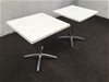 <p>Qty 2 X Isotop Cafe Table</p>