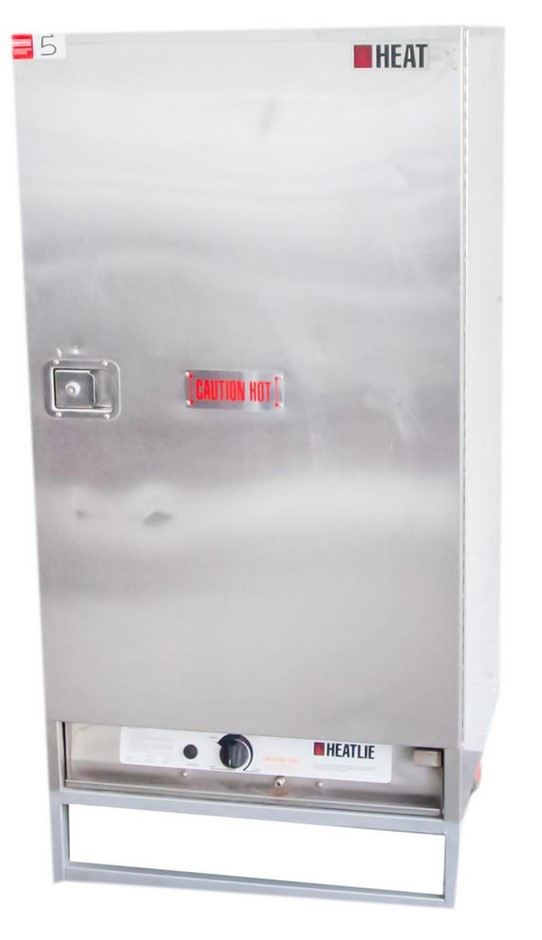 HEAT LIFE GAS STAINLESS STEEL MOBILE STAINLESS STEEL FOOD WARMING ON STR