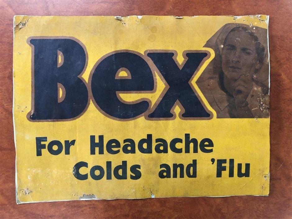 Authentic BEX Sign