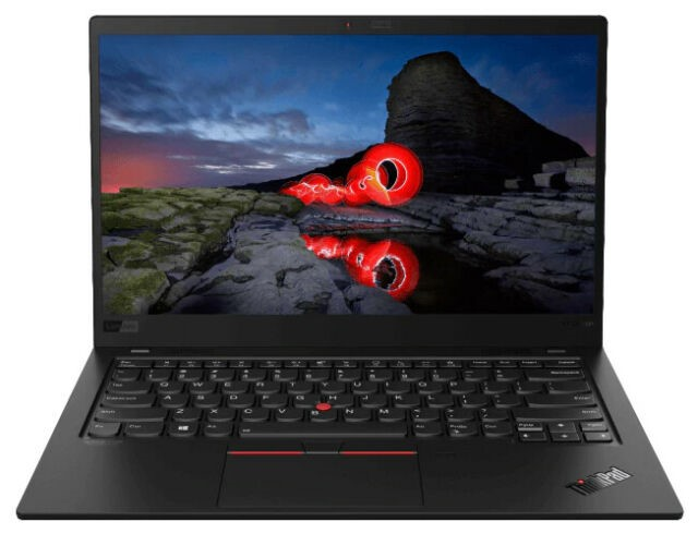 Lenovo ThinkPad X1 Carbon 8th Gen 14-inch Notebook, Black