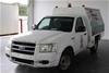 2006 Ford Ranger XL 4x2 Single PJ Turbo Diesel Manual Cab Chassis