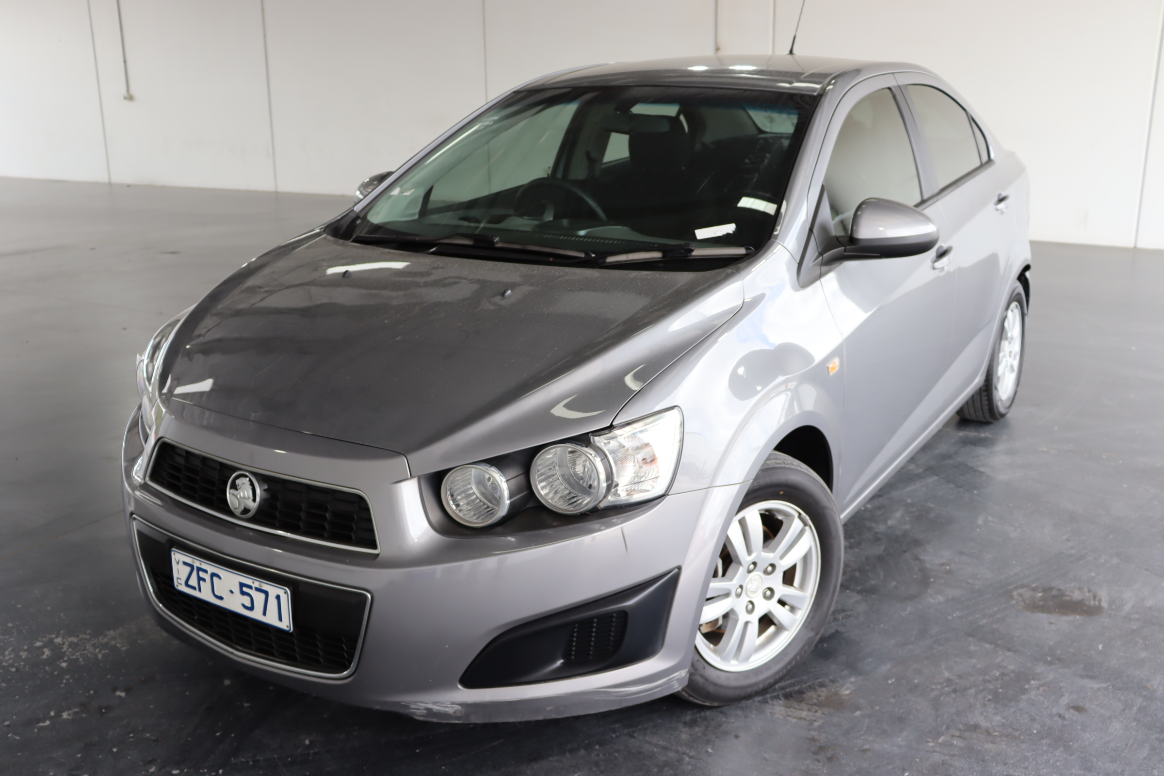 2012 Holden Barina TM Manual Sedan