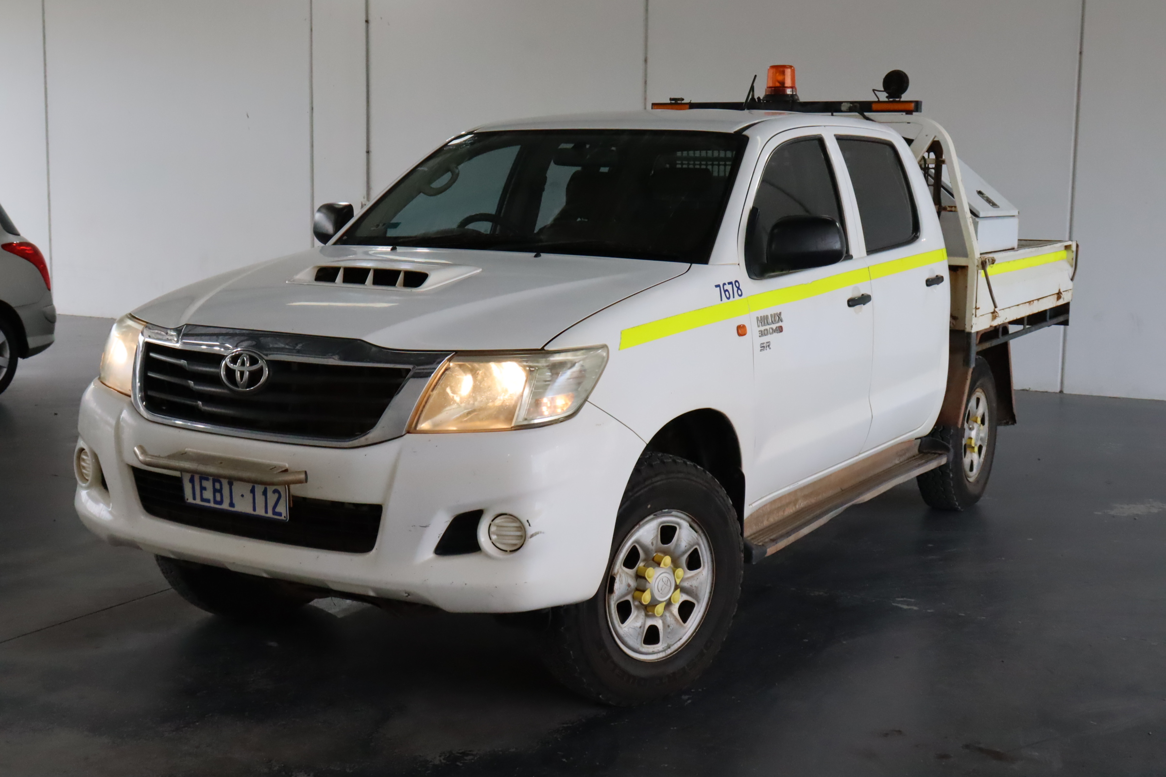 2012 Toyota Hilux 4X4 SR KUN26R Turbo Diesel Manual Crew Cab Chassis