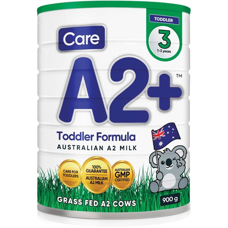 Care A2 + Stage 3 Baby Formula (6x 900g)