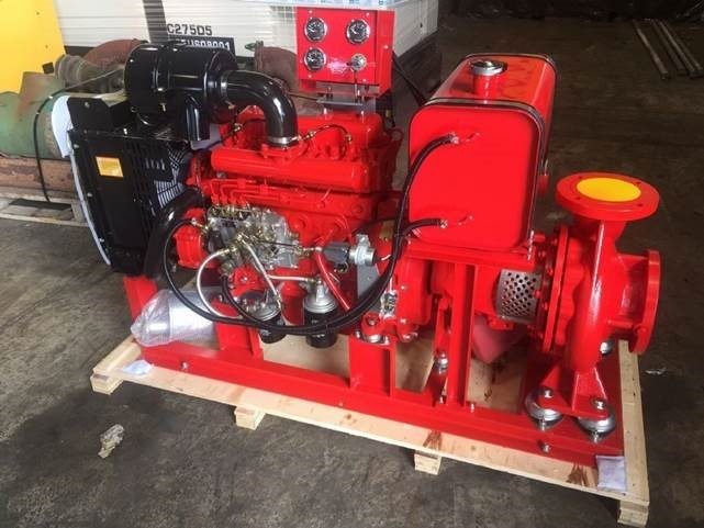 "4"" WP100Y Diesel Powered Water Pump"