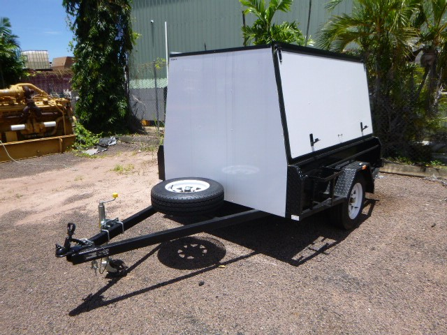 2020 Top End Steel 7 x 5 Canopy Single Box Trailer