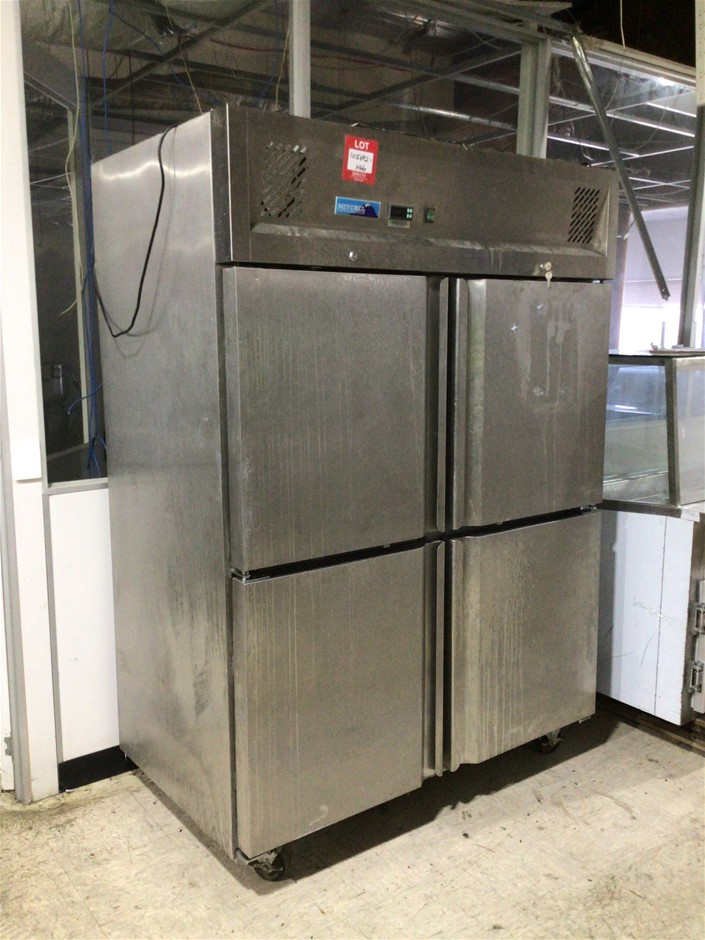 GN1410BT4D Commercial Freezer on Castors