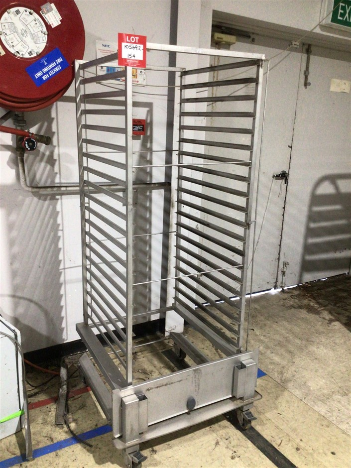 Mobile Rack for Combi Oven