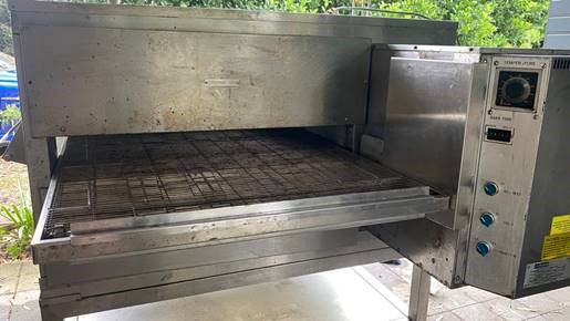 Middleby Marshall Model PS200Vl Direct Gas Fired Conveyor Oven