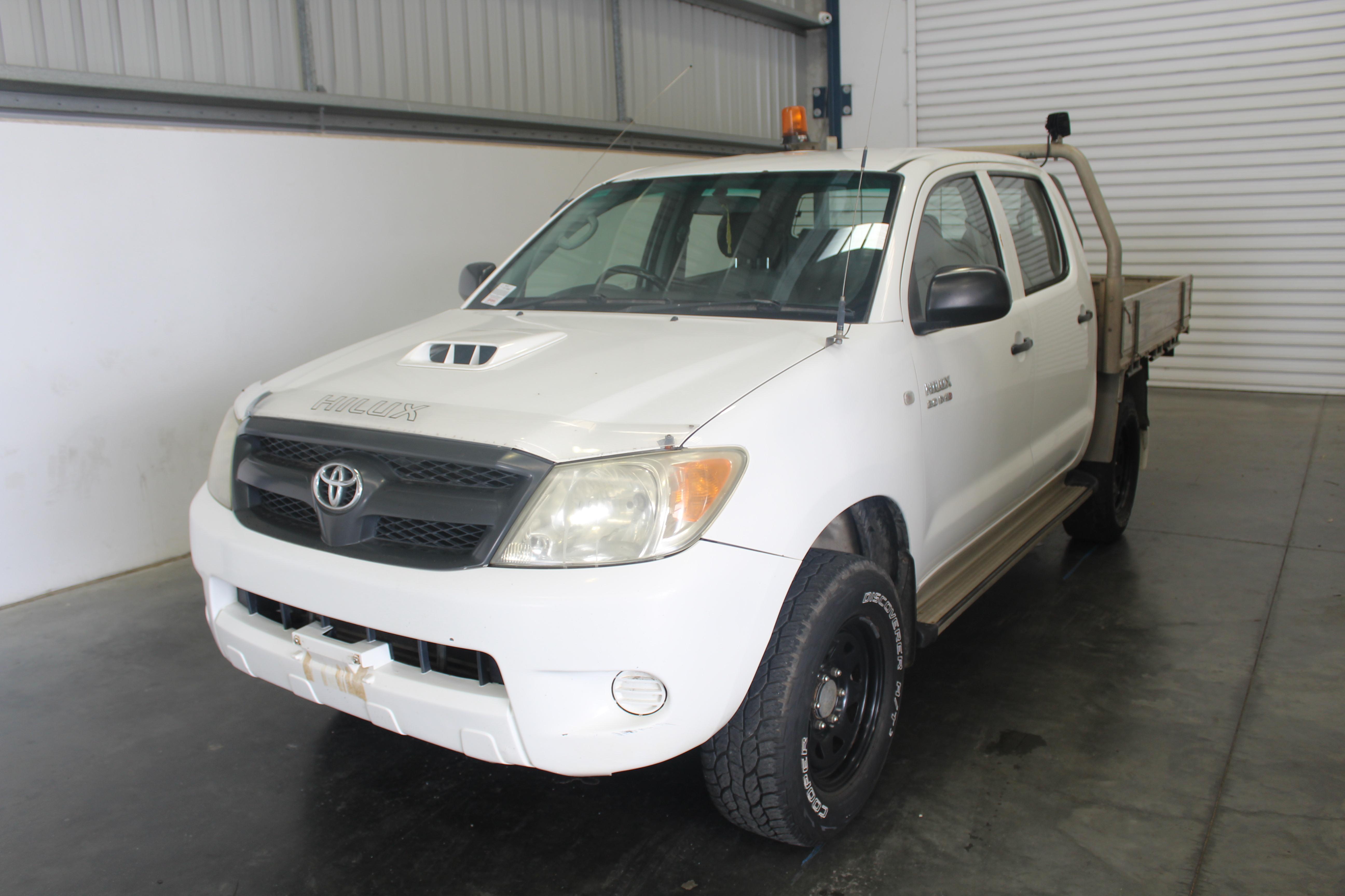 2006 Toyota Hilux SR (4x4) KUN26R Turbo Diesel Dual Cab