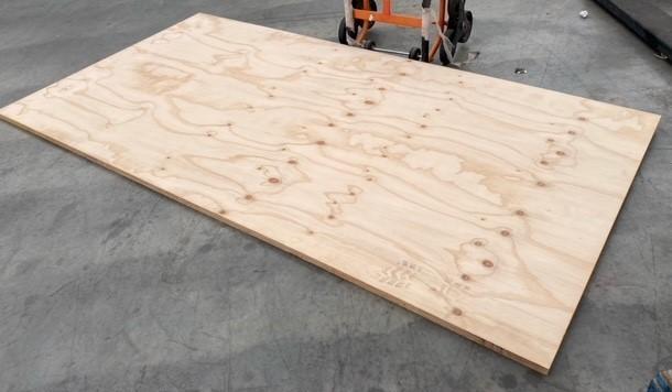 1 x Unused Sheet Chilean Radiata Pine CPD Exterior Plywood - 2400x1200x25mm