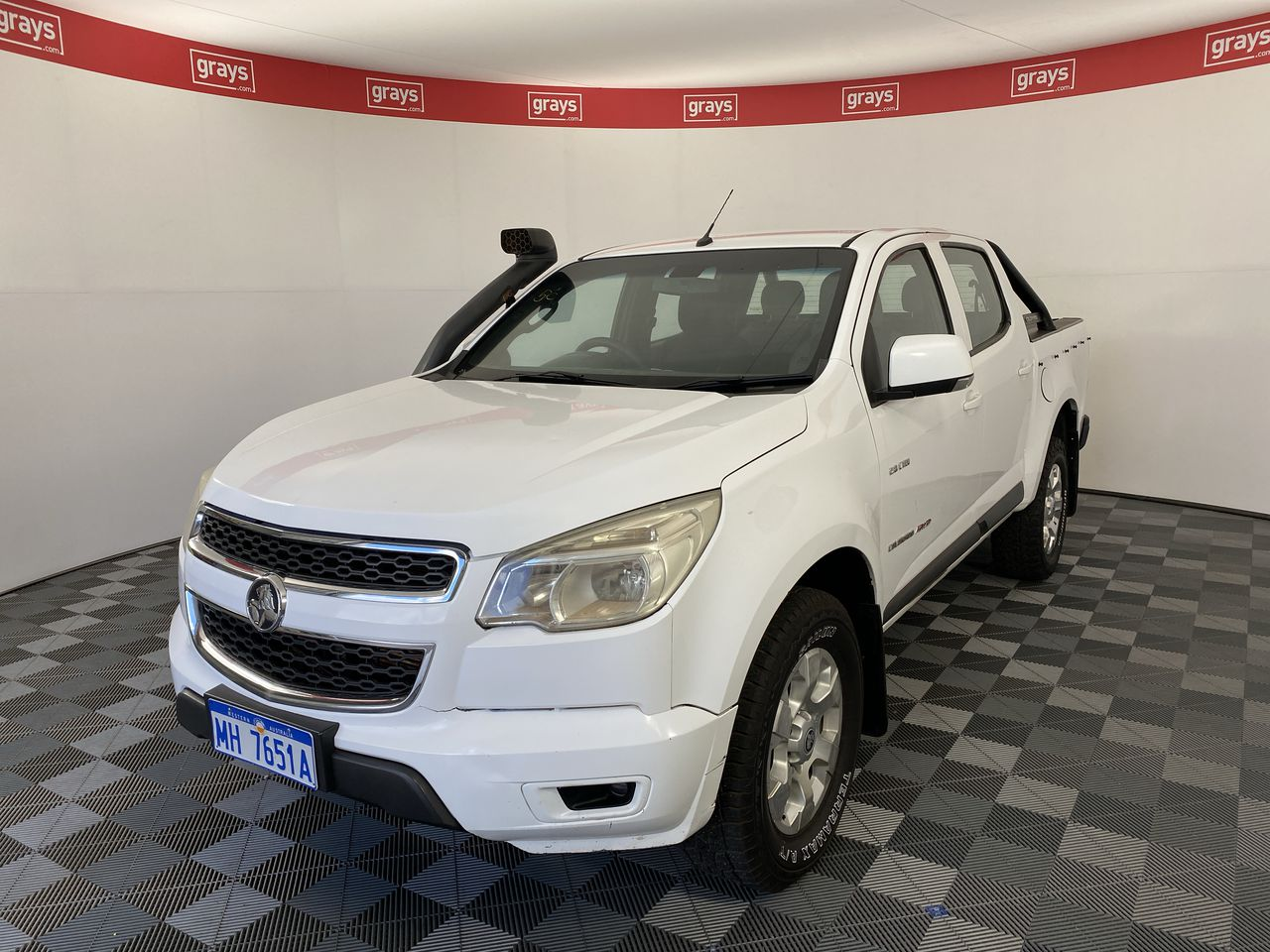 2013 Holden Colorado 4X4 LX RG Turbo Diesel Automatic Crew Cab Chassis