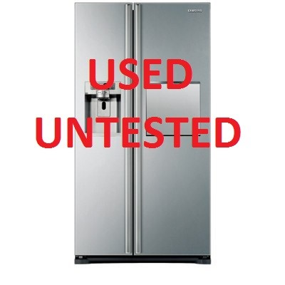 Samsung 684L Stainless Steel Side By Side Fridge (SRS683GDHLS)