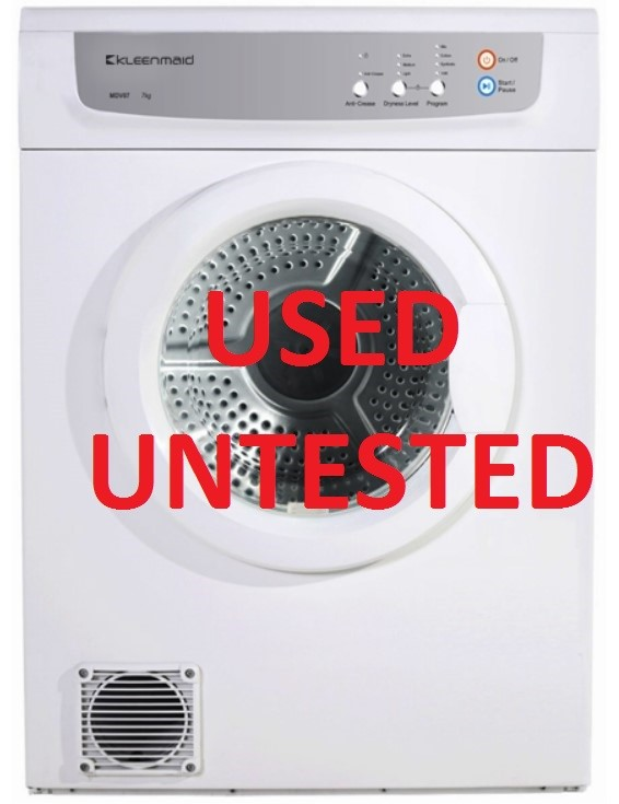 Kleenmaid 7Kg Sensor Controlled Vented Dryer (KCDV60)