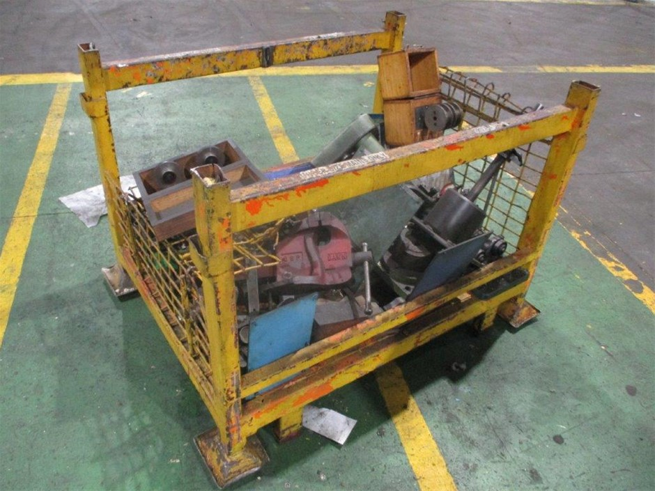 Steel Stillage and Contents of Assorted Test Equipment