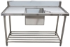 NEVER BEEN USED STAINLESS STEEL SINGLE BOWL SINK