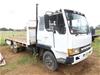 1988 Mitsubishi FK415F16 Tray Body Truck