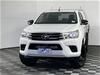 2015 Toyota Hilux SR (4x4) GUN126R Turbo Diesel Automatic Crew Cab Chassis
