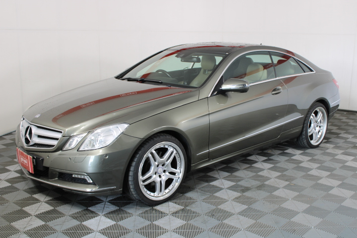 2009 Mercedes Benz E-CLASS E350 ELEGANCE C207 Automatic Coupe