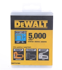 Pack of 5,000 x DeWALT Heavy Duty Staple