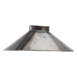 Aspen Lamp Steel Shade (Size: 55d x 20h