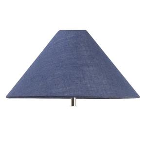 Navy Lamp Shade/AU (Size: 40 x 20 x 8 cm