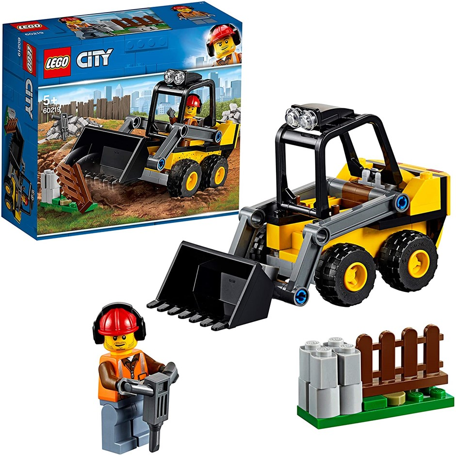 LEGO City Construction Loader Building Toy, Vehicle Toy for 5+ Year Old