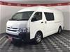 2014 Toyota Hiace SLWB KDH221R Turbo Diesel Automatic Van