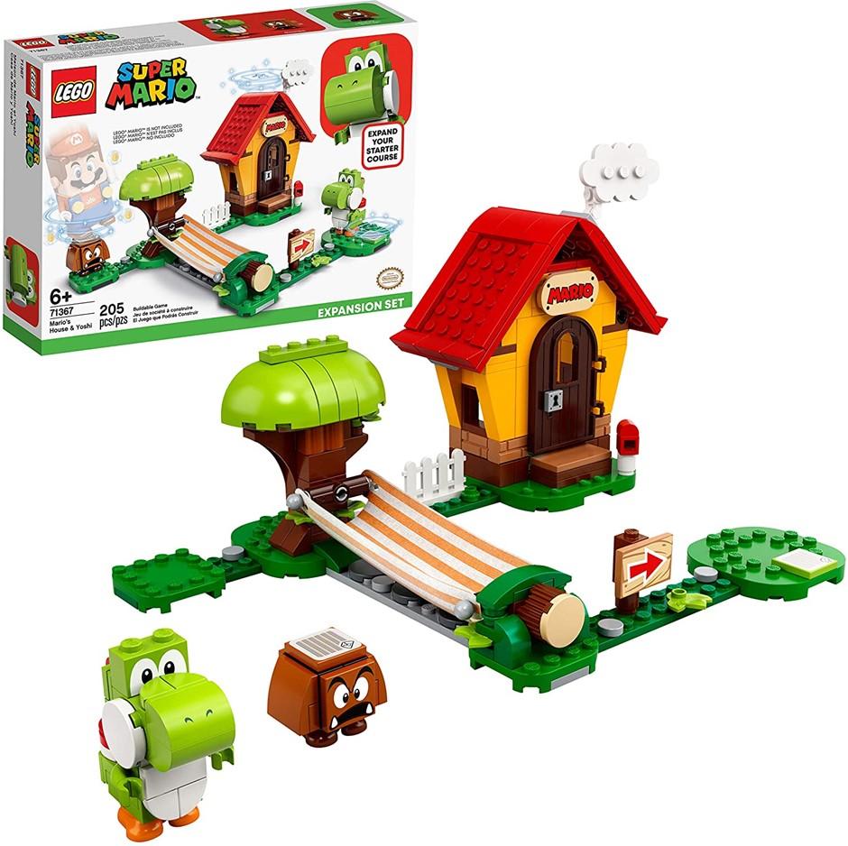 LEGO Super Mario Mario's House & Yoshi Expansion Set 71367 Building Kit