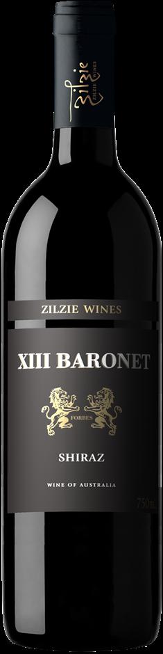 Zilzie Baronet Shiraz 2019 (6 x 750mL) SEA