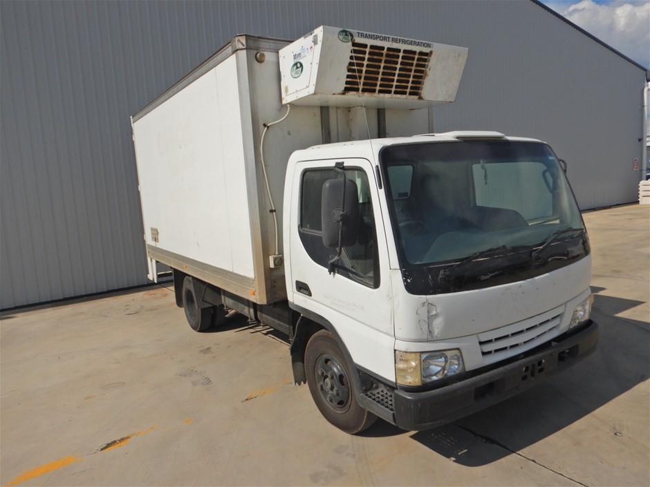 2001 Mazda T4600D 4 x 2 Refrigerated Body Truck