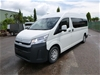 2020 Toyota HiAce Commuter RWD Automatic People Mover